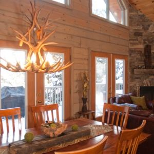 Bliss Cottage Luxury Log Home