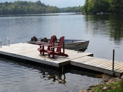 Fishermen's Hideout/Birch Island/Easy Access To Island With Boat And Motor Suppled With Rental