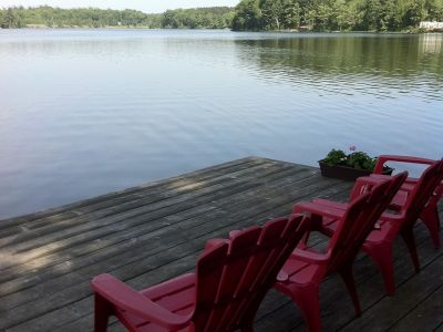 Sunsets on the Dock! Butterfly Lake Cottage