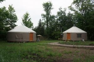 Ecofiest Yurts & Sauna on Kawartha Lakes
