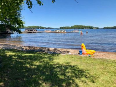 Birch Beach on Lake Rosseau